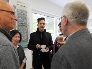 Ausstellung Rosenkreuzer - Andreas Bromba im Gespräch